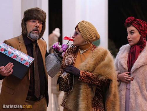 بازیگران نقش مینا و غضنفر چمچاره در دراکولای مهران مدیری