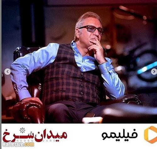 حمید فرخنژاد بازیگر نقش پاپ در سریال میدان سرخ
