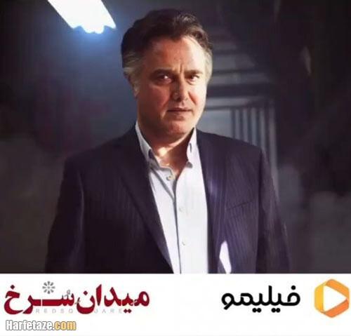 سعید داخ بازیگر نقش عبد مکین در سریال میدان سرخ