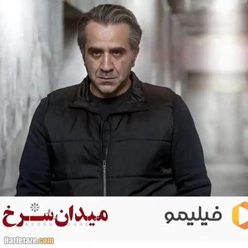 مهدی حسینینیا بازیگر نقش منصور در سریال میدان سرخ