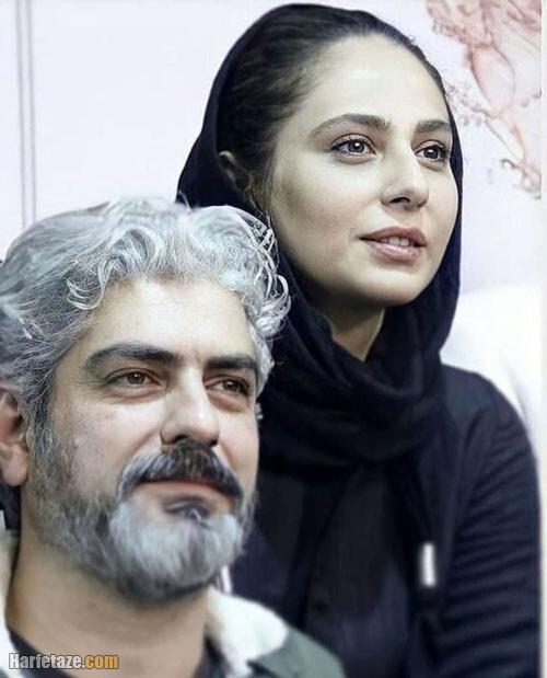 همبازی شدن مهدی پاکدل و همسرش رعنا آزادی ور در سریال زخم کاری