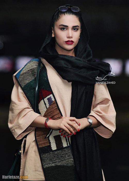 شکیلا سماواتی بازیگر نقش نیوشا در سریال دراکولا کیس