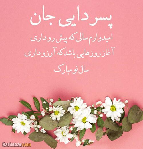 عکس نوشته و متن تبریک سال نو و عید نوروز به پسرعمه و دخترعمه