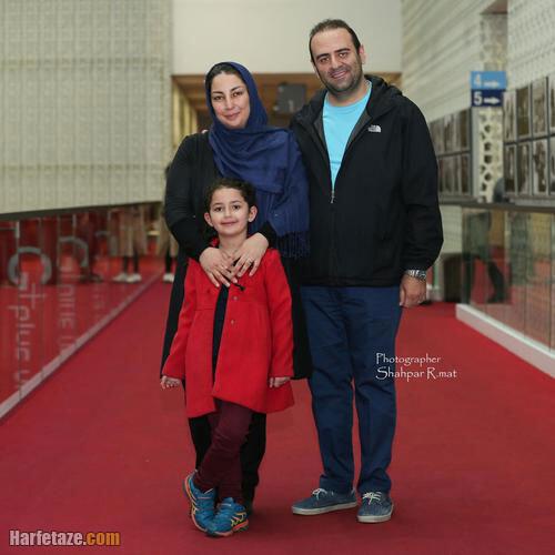 عکس نیره حاتمی کیا همسر وحید رونقی و دختر ابراهیم حاتمی کیا