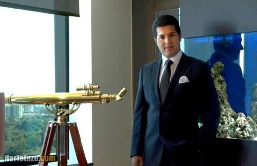 بیوگرافی رضا ضراب تاجر ایرانی و همسر سابقش ابرو گوندش + زندگینامه