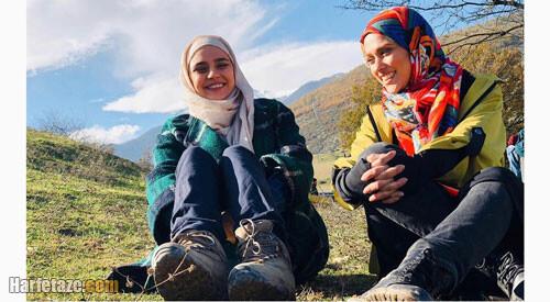 آدرینا صادقی | بیوگرافی و عکس های جدید آدرینا صادقی و همسرش + خانواده و فیلم شناسی