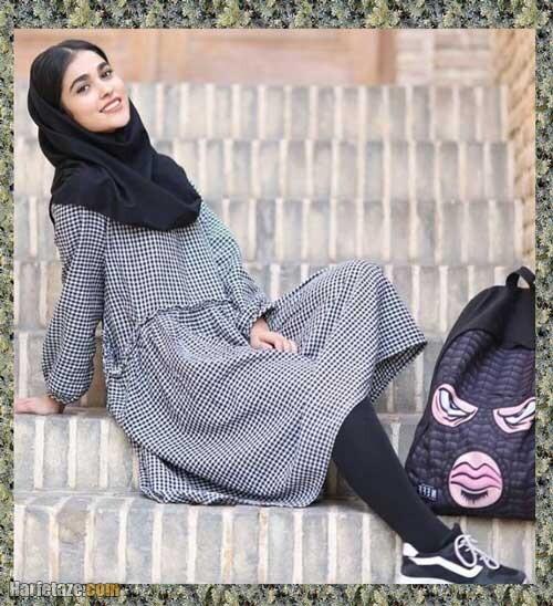 سن آدرینا صادقی بازیگر نقش مائده در سریال احضار