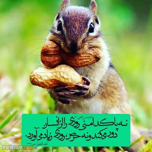 عکس پروفایل احادیث امام حسن