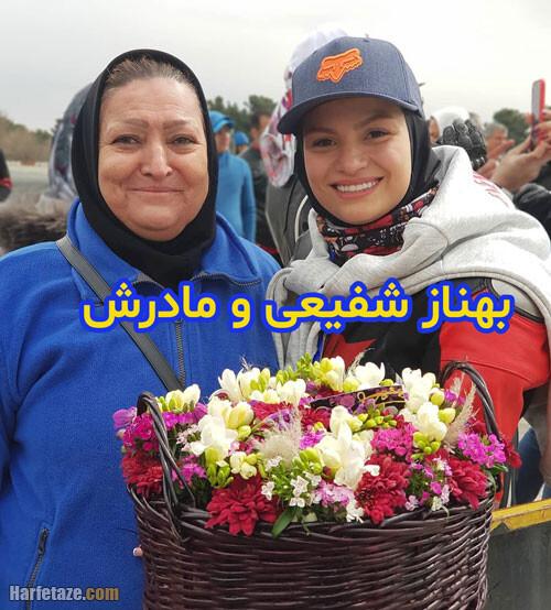 عکس بهناز شفیعی و مادرش