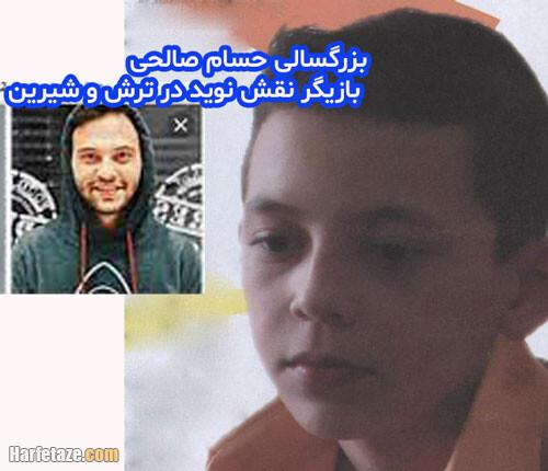 بیوگرافی بازیگر نقش نوید در سریال ترش و شیرین, حسام صالحی الان کجاست