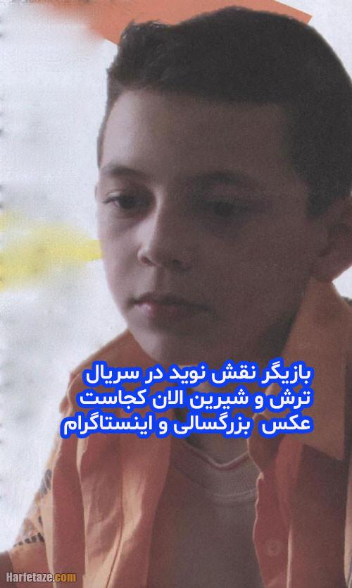 بیوگرافی حسام صالحی بازیگر نقش نوید در سریال ترش و شیرین