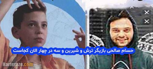 حسام صالحی | بیوگرافی و عکس های جدید حسام صالحی و همسرش + شغل و فیلم شناسی