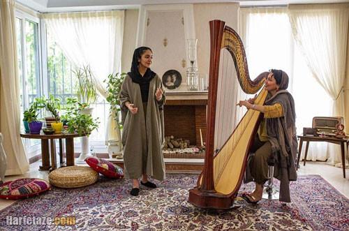 بیوگرافی «نازلی بخشایش» نوازنده چنگ و خانواده اش + اینستاگرام