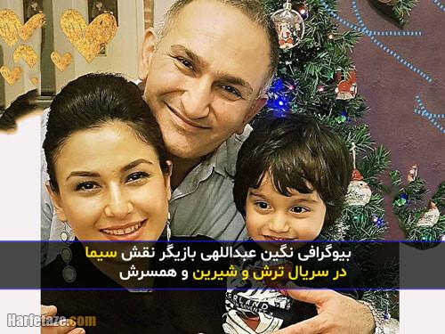 negin abdollahi 5 - بیوگرافی «نگین عبداللهی» و همسر و فرزندانش با عکس جدید + زندگینامه و فیلم شناسی