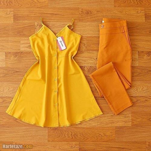 پیراهن بهاری 1400