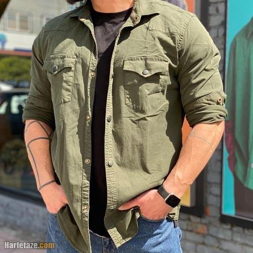 پیراهن مردانه بهاره 1400