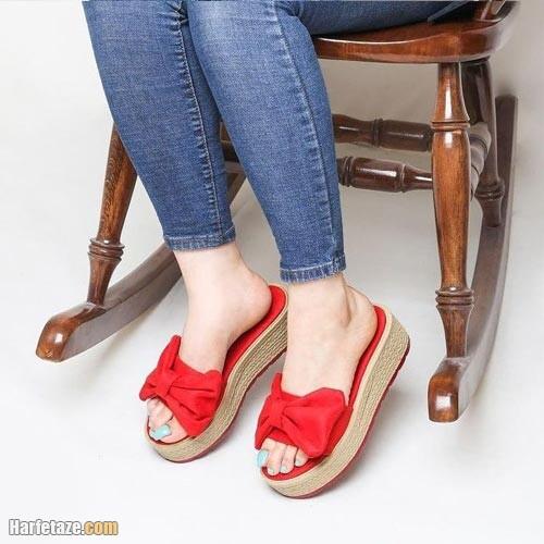 صندل زنانه بهار ۱۴۰۰ | جدیدترین انواع مدل های صندل های زنانه ویژه بهار ۱۴۰۰