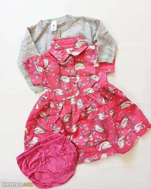 ست نوزادی دخترانه بهاره 1400
