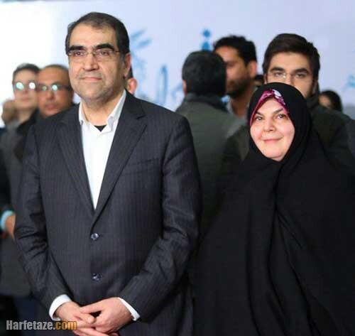 عکس همسر قاضی زاده هاشمی