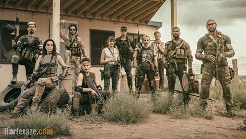 اسامی بازیگران فیلم ارتش مردگان Army of dead به همراه نقش