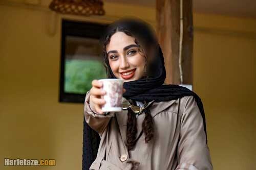 بیوگرافی و عکس های جدید عاطفه چوپانی   بازیگر سریال روزهای آبی