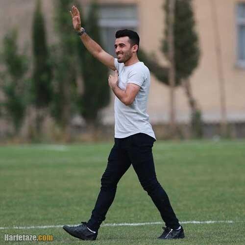 عکس های جدید شخصی و ورزشی بختیار رحمانی بازیکن فوتبال