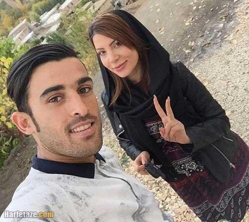 عکس های جدید بختیار رحمانی و همسرش کیست