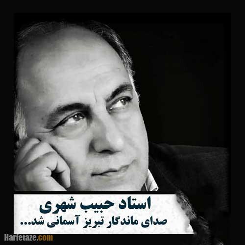 بیوگرافی و عکس های حبیب شهری مجری و گوینده شبکه سهند + علت فوت
