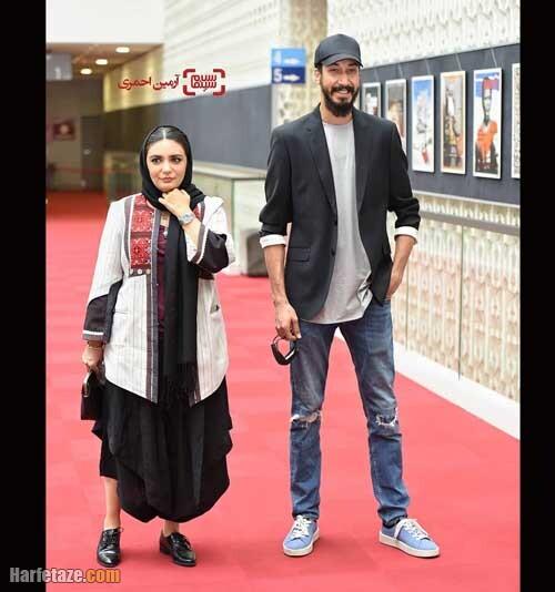بهرام افشاری و لیندا کیانی در سی و هشتمین جشنواره جهانی فیلم فجر 1400