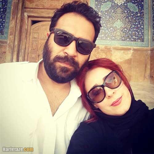 عکس مریم مقدم و همسرش