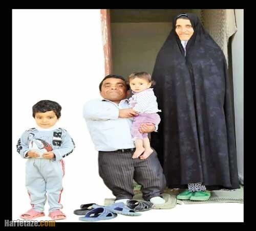 عکس همسر و فرزندان مهران بیرانود بازیگر لر