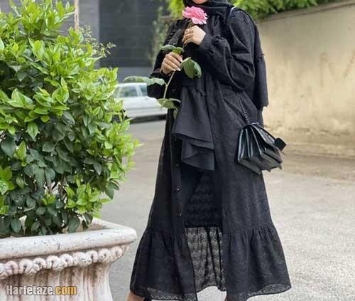 جدیدترین مدل مانتو مجلسی تابستانی زنانه برای خانم های مسن 1400