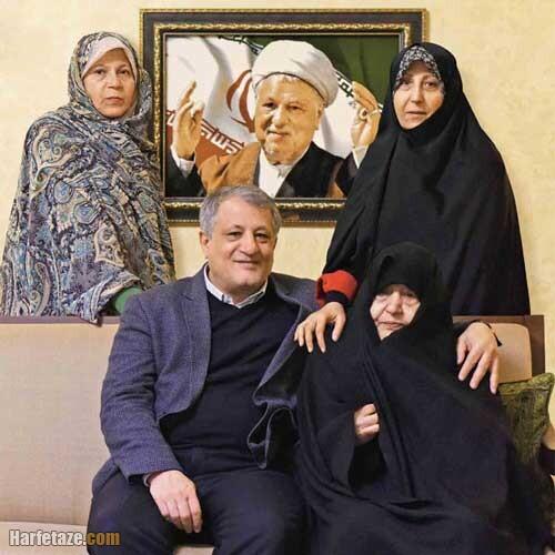 فرزندان محسن هاشمی کجا هستند