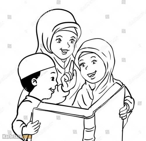 طراحی شب 19 رمضان برای مهد کودک