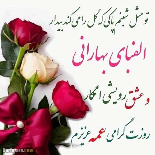 عکس نوشته متن تبریک روز معلم به خاله و عمه