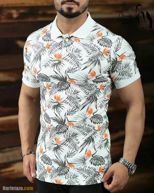 تیشرت تابستانی مردانه ۱۴۰۰ | جدیدترین انواع مدل های تیشرت تابستانی مردانه ۱۴۰۰
