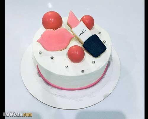 کیک روز دختر اینستاگرام