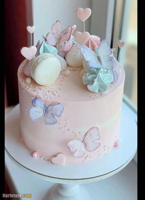 شیک ترین مدل کیک روز دختر