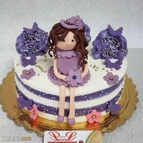 مدل کیک برای روز دختر شیک