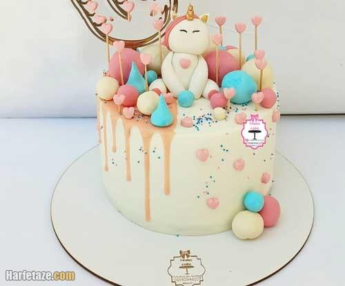 جدیدترین کیک لوازم آرایش روز دختر