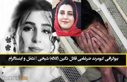 بیوگرافی کیومرث ضرغامی قاتل نگین (گلاله) شیخی + اینستاگرام و شغل و عکسها