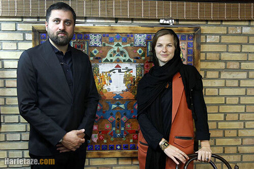 مارین ون هولک و همسرش