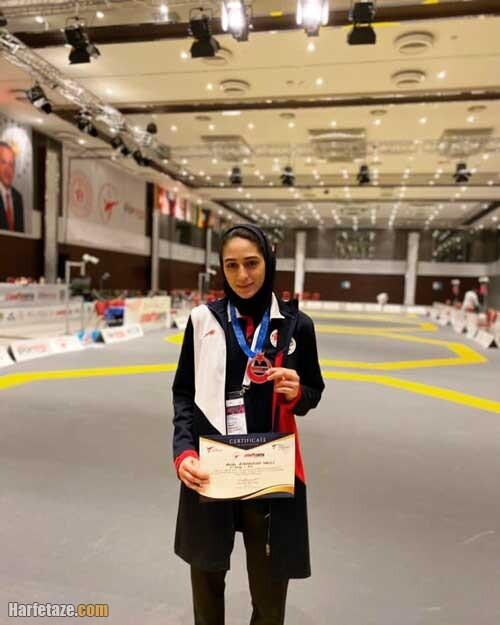 ملیکا میرحسینی تکواندو