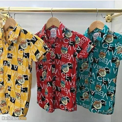 پیراهن تابستانی پسرانه 1400