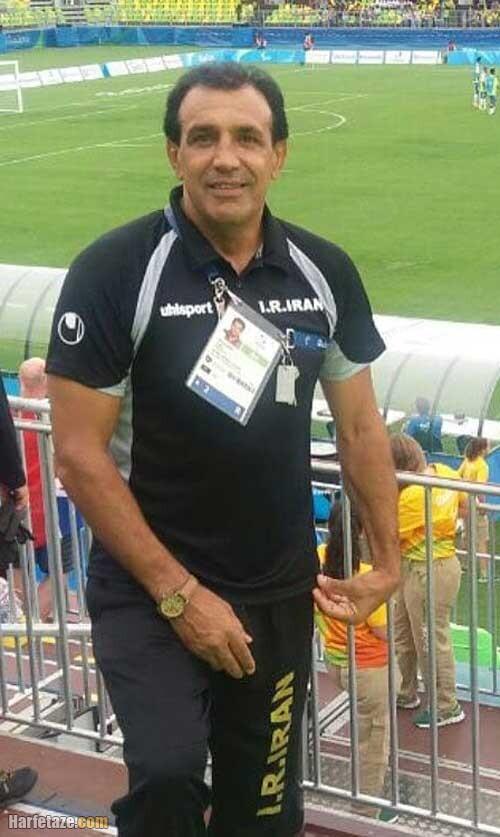 مراسم تشییع و خاکسپاری احمد جانعلی پیشکسوت فوتبال