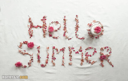عکس نوشت تبریک فرارسیدن تابستان