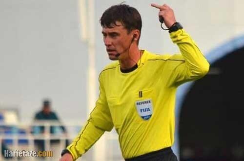 بیوگرافی و سوابق ایلگیز تانتاشف داور بازی ایران و عراق مقدماتی جام جهانی 2022