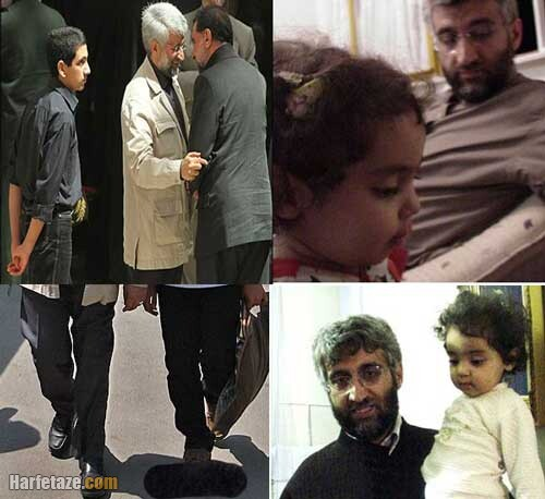 فاطمه سجادی و همسرش سعید جلیلی