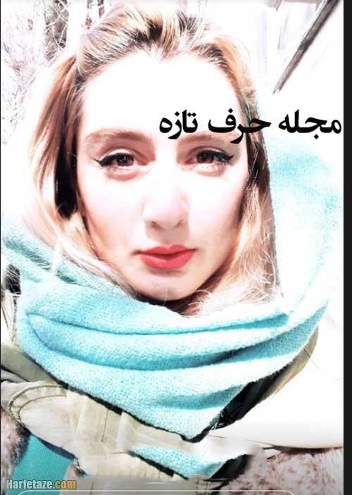 عکسزهره ساداتی در سریال لحظه گرگ و میش