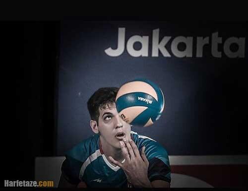 عکس ها و تصاویر صابر کاظمی بازیکن والیبال